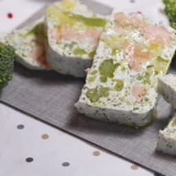 Terrine de saumon au yaourt aux herbes et au brocoli