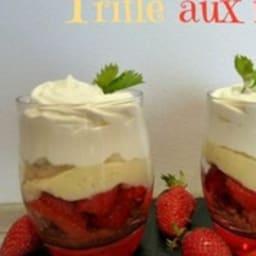 Trifle aux fraises