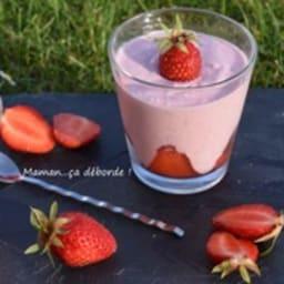 Mousse de fraise à la bricotta