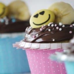 Cupcake Joséphine chocolat banane