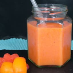 Smoothie pastèque abricot