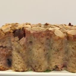 Cake figues flocons d'avoine et amandes