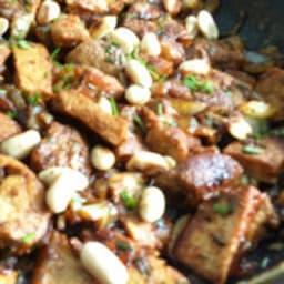 Sauté de porc à l'écorce de yuzu