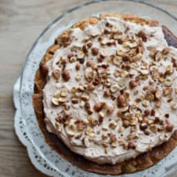Gâteau magique pomme et praliné