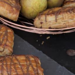 Le chausson à la poire et au chocolat