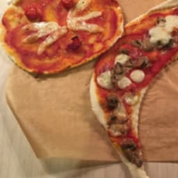 La pizza facile et rigolote
