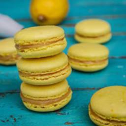 Macarons au citron et crème de citron