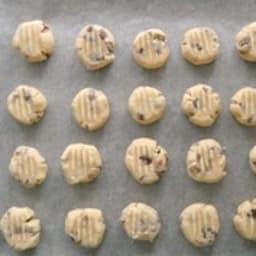 Petits cookies à la fourchette