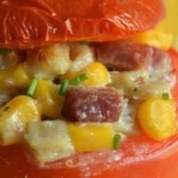Tomates farcies aux crozets