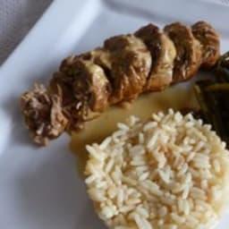 Paupiettes de veau aux olives