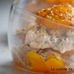 Pêche au thon au coulis de tomate