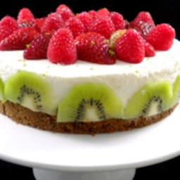 Cheesecake printanier