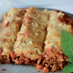 Cannellonis aux protéines de soja texturées