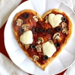 Pizza coeur