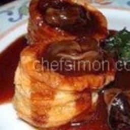 Escargots sauce au vin rouge