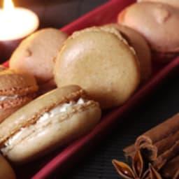 Macarons au pain d'épices