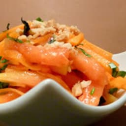 Salade de papaye carotte
