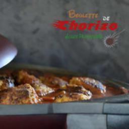 Boulettes de chorizo sauce provençale