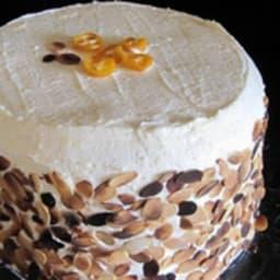 Layer cake aux kumquats