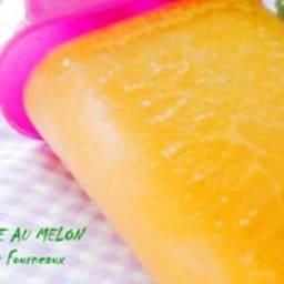 Bâtonnets glacés au melon