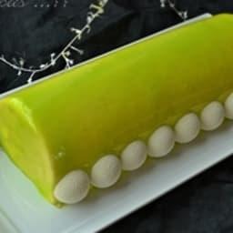 Bûche combava citron