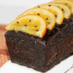 Cake chocolat à l'orange de Philippe Andrieu