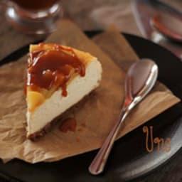 Cheese Cake aux pommes et son Caramel Beurre Salé