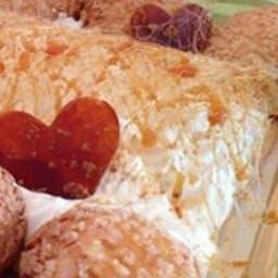 Saint Honoré caramel beurre salé