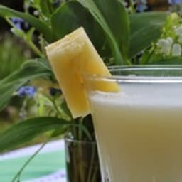 Boisson rafraichissante au coco parfum pina colada
