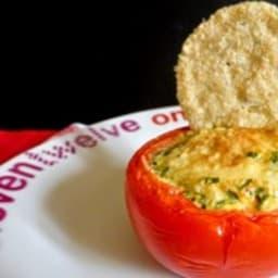 Oeufs en nid de tomates