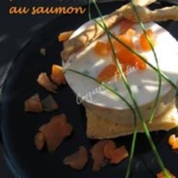 Panna cotta au saumon