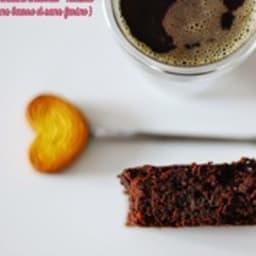 Fondant chocolat et noisette