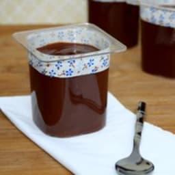 Danette au chocolat maison