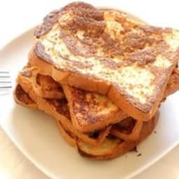Pain perdu ou French toast