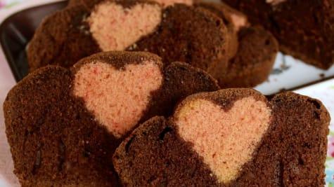 Cake insert cœur