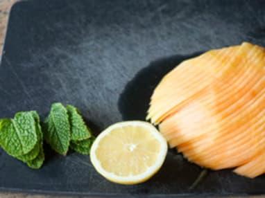 Découper un melon en tranches