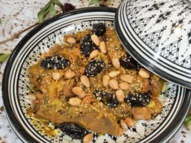 Tajine de veaux aux pruneaux à la marocaine