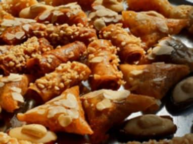 Briouate aux amandes et noisettes