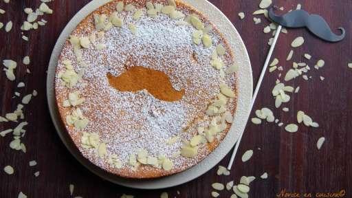 Gâteau magique amandes, avoine et spéculoos