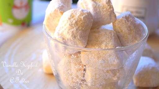 Sablé fondant vanille amande