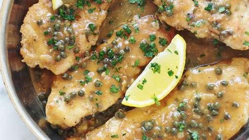 Poulet piccata