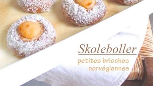 Skoleboller, brioches norvégiennes