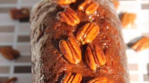 Cake aux noix de pécan et sirop d'érable