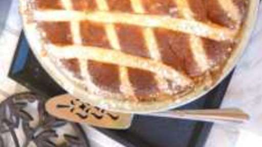 Pastiera Napolitana tarte à la ricotta