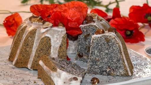 Piegusek, gâteau polonais aux graines de pavot