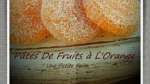Pâtes de fruit à l'orange