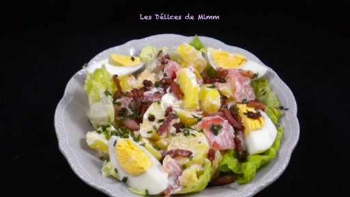 Salade froide de pommes de terre aux lardons