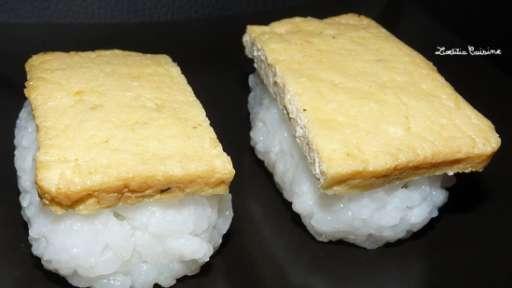Sushis veggies aux filets de tofu à la japonaise (taifun)