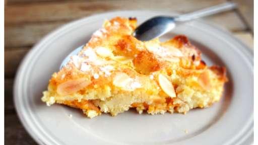 Gâteau aux abricots comme un financier