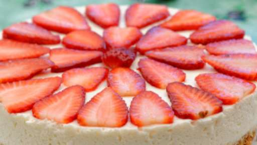 Cheesecake aux fraises